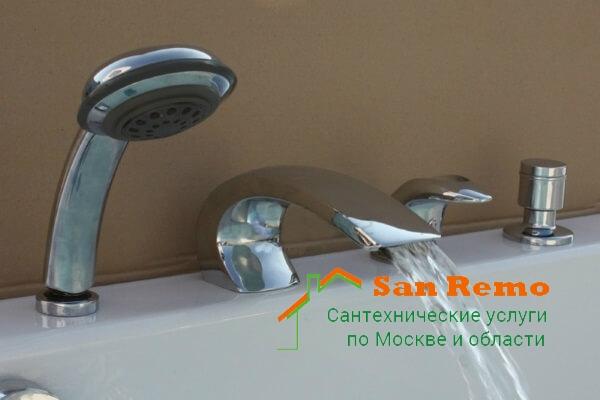 Стоимость установки встроенного смесителя, цены на установку встраиваемого смесителя в Москве
