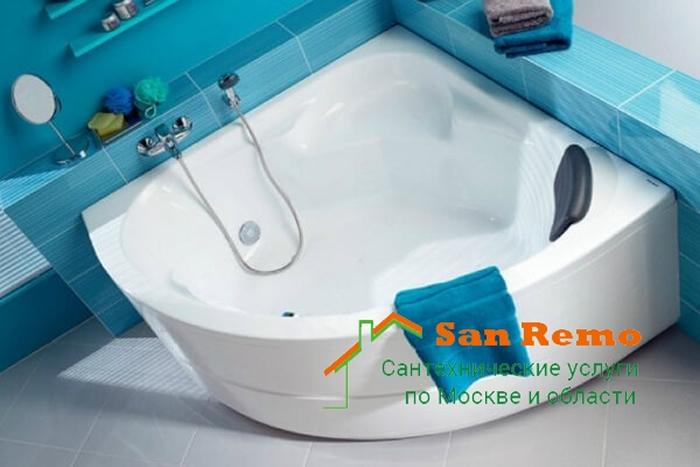 Установка ванны в ванной комнате: цены на замену, монтаж и демонтаж, расценки на работы на 2018 год в Москве