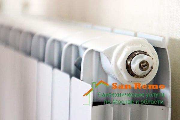 Монтаж батарей отопления, стоимость установки радиатора отопления в квартире в Москве