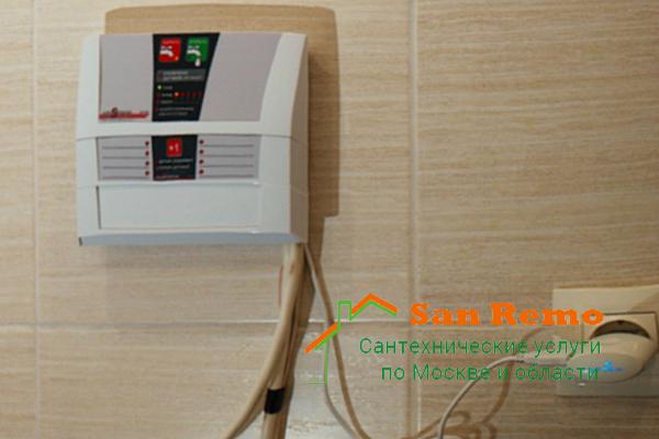 Установка системы защиты от протечек воды в квартире, установить систему защиты от протечек от компании San Remo
