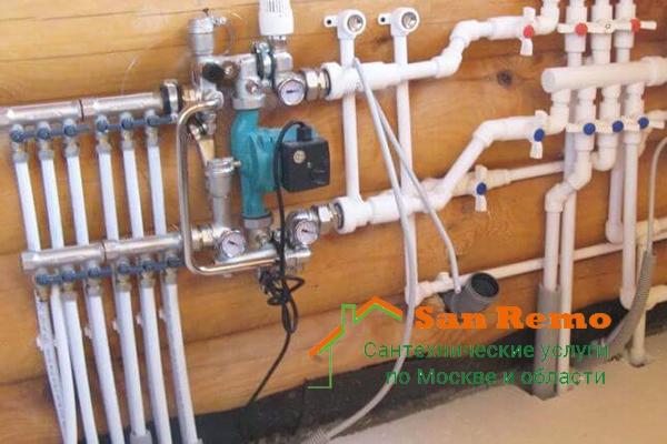 Замена труб водоснабжения в квартире, стоимость услуг по замене и монтажу труб ПВХ