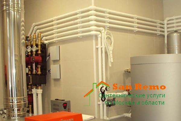 Разводка труб водоснабжения в Москве, цена за работу, стоимость разводки труб водоснабжения в квартире
