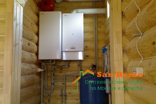 Установка водонагревателя в Москве, цена за работу, стоимость установки водонагревателя на дому