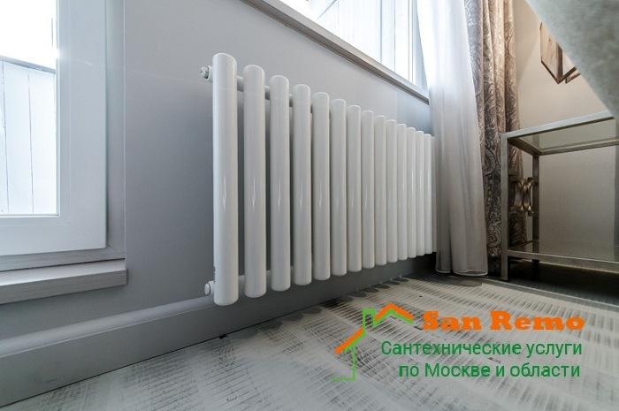 Установка и подключение трубчатого радиатора: стоимость услуги в Москве - San-Remo77.ru